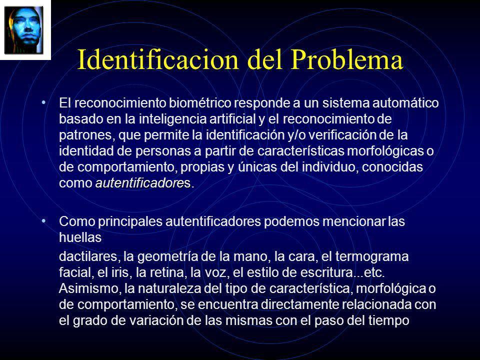 Identificacion del Problema