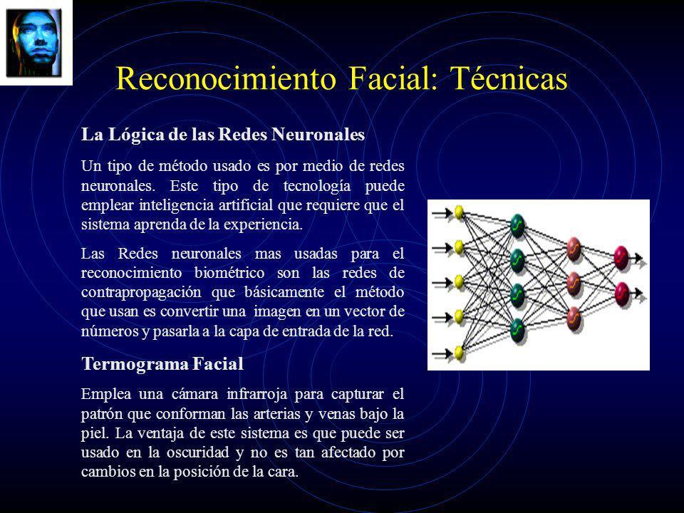 Reconocimiento Facial: Técnicas