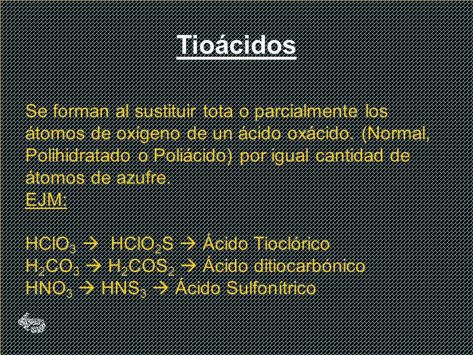 Tioácidos