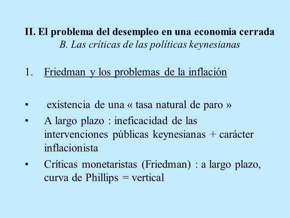 Friedman y los problemas de la inflación