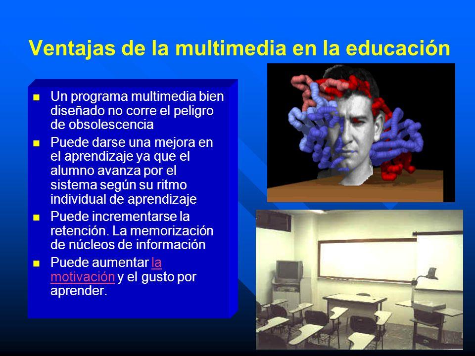 Ventajas de la multimedia en la educación