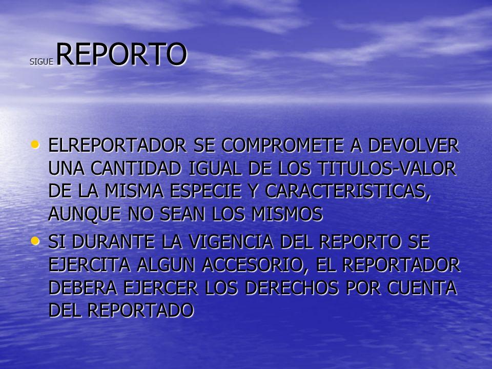 SIGUE REPORTO