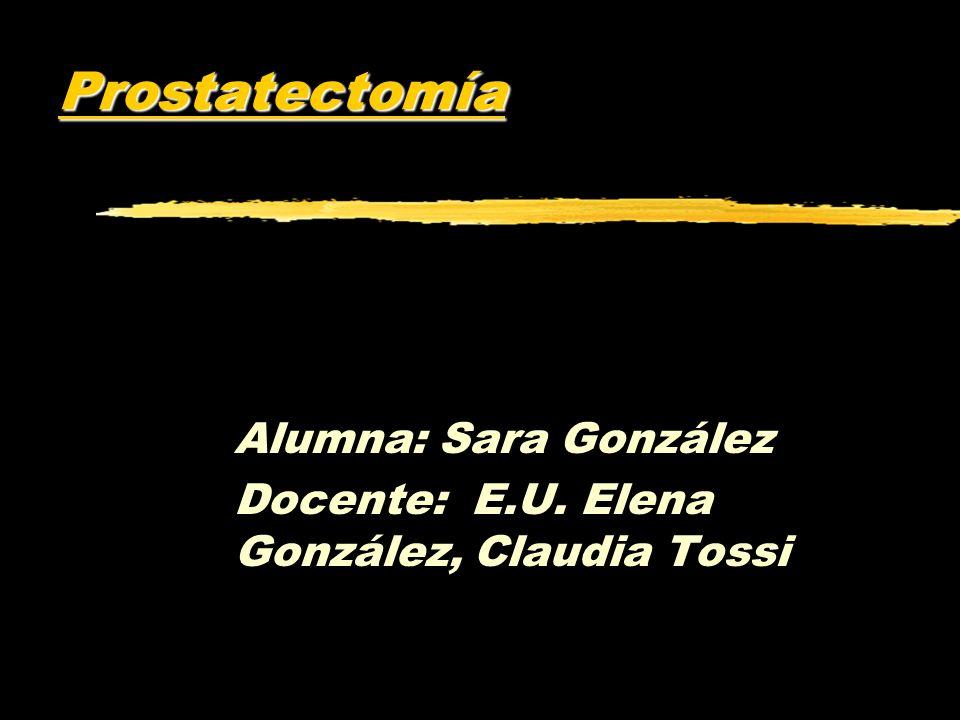 Alumna: Sara González Docente: E.U. Elena González, Claudia Tossi