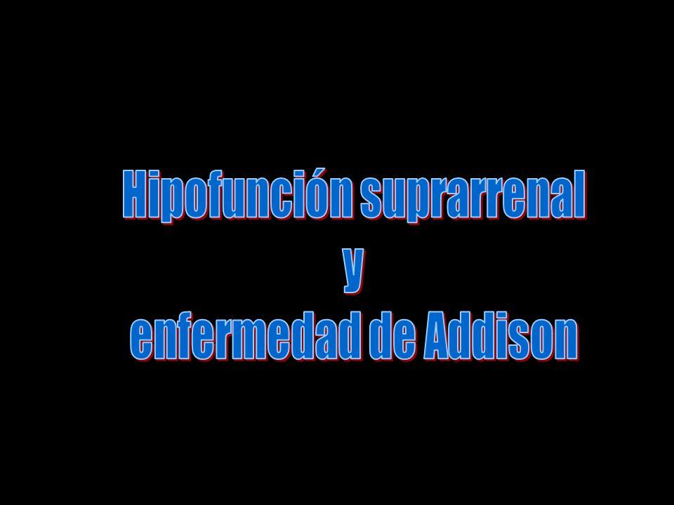 Hipofunción suprarrenal