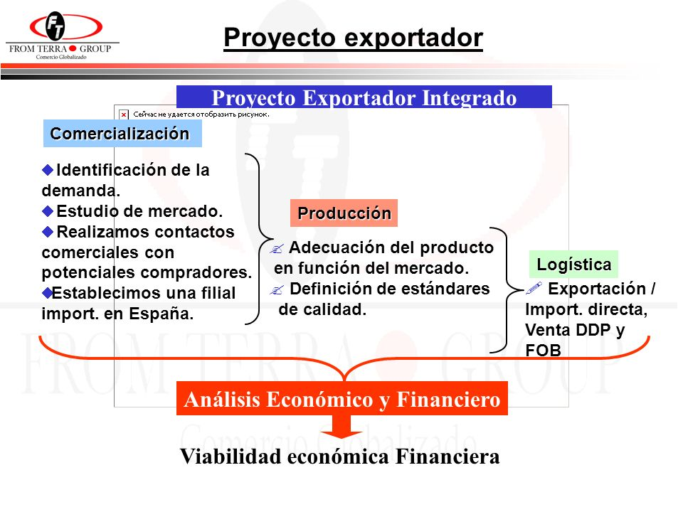 Proyecto exportador Proyecto Exportador Integrado