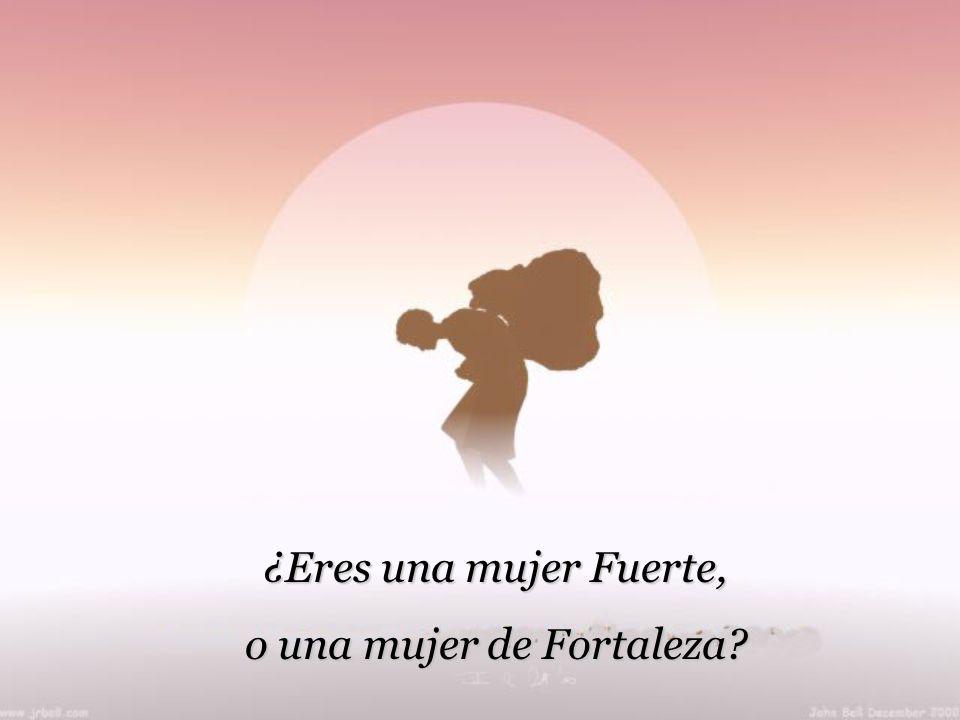 o una mujer de Fortaleza