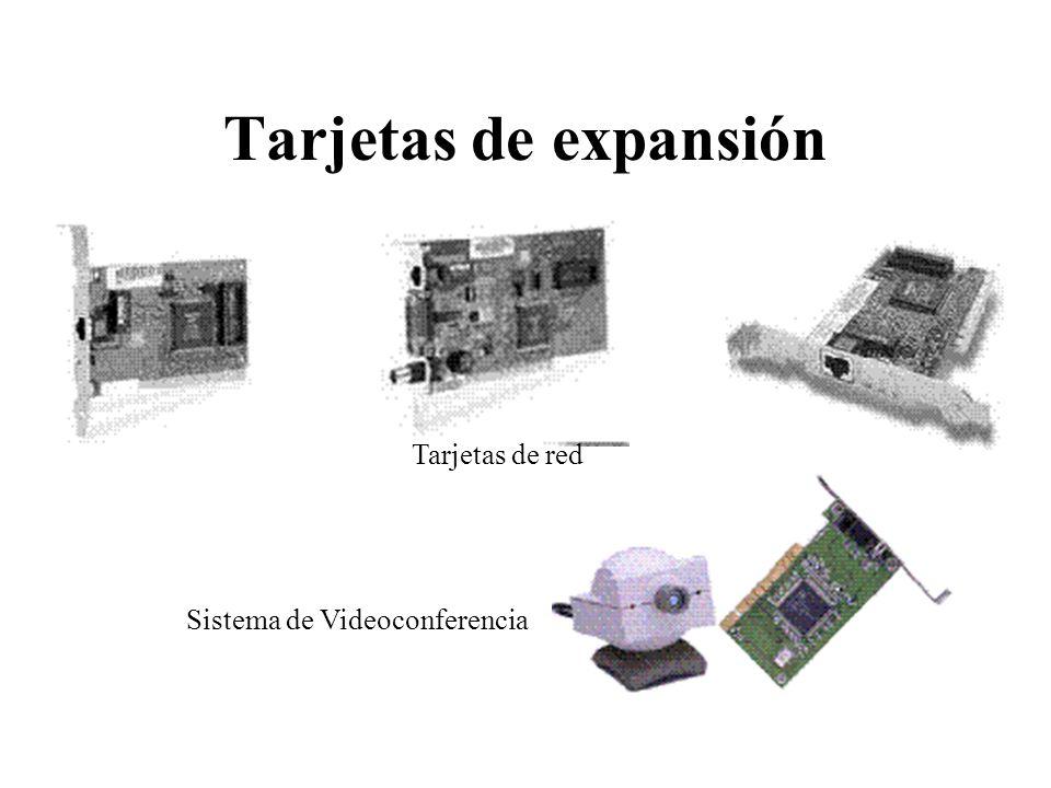 Tarjetas de expansión Tarjetas de red Sistema de Videoconferencia