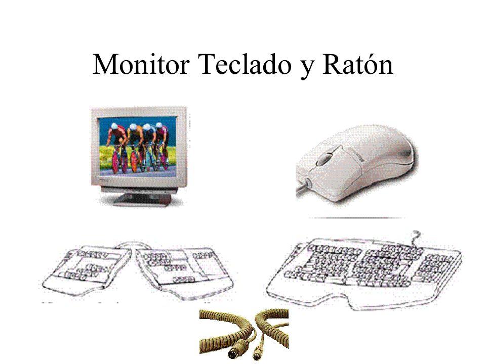 Monitor Teclado y Ratón