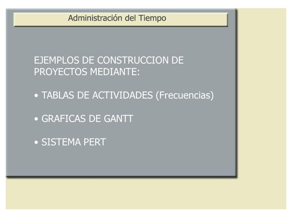 EJEMPLOS DE CONSTRUCCION DE