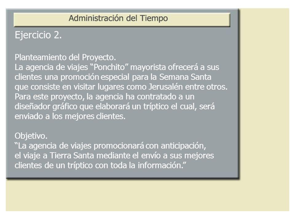 Ejercicio 2. Planteamiento del Proyecto.