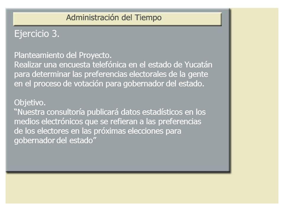 Ejercicio 3. Planteamiento del Proyecto.