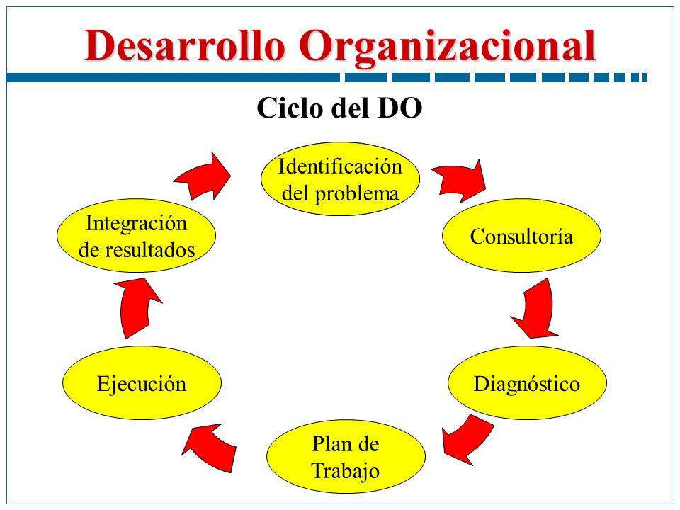 Ciclo del DO Identificación del problema Identificación del problema