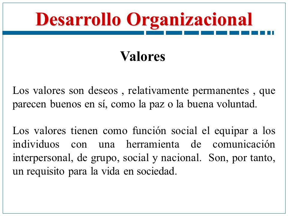 Valores Los valores son deseos , relativamente permanentes , que parecen buenos en sí, como la paz o la buena voluntad.