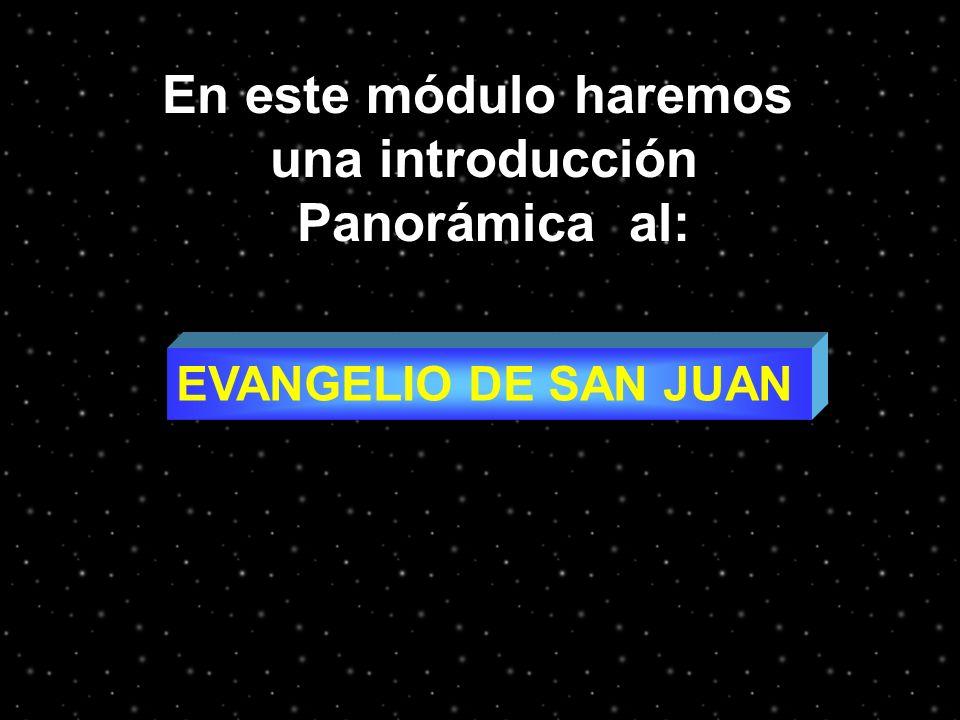 En este módulo haremos una introducción Panorámica al: