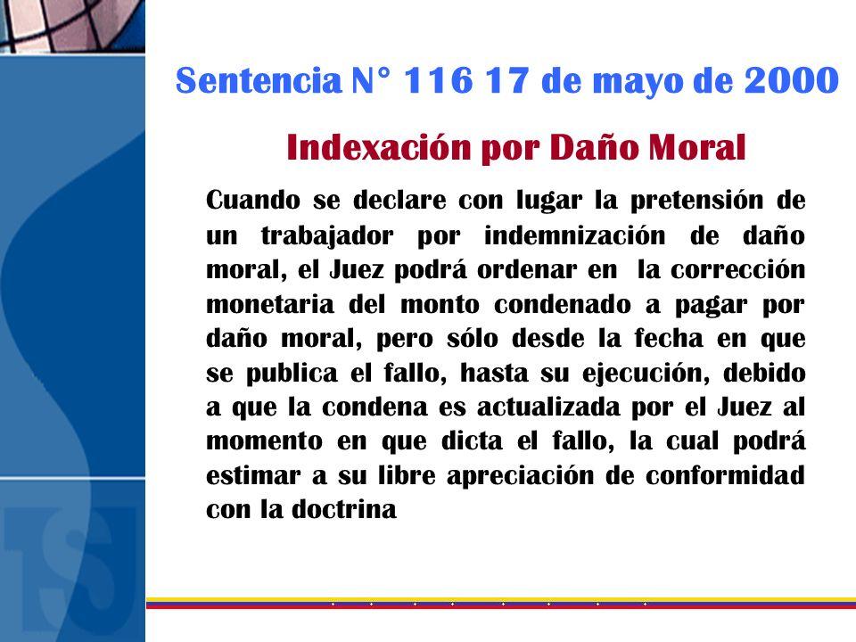 Indexación por Daño Moral
