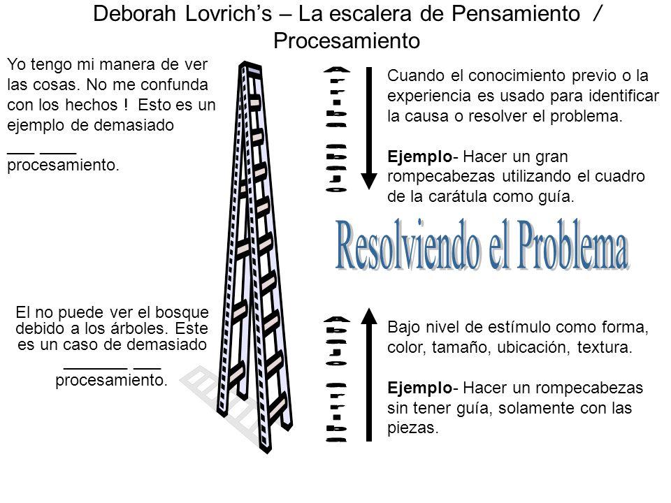 Deborah Lovrich's – La escalera de Pensamiento / Procesamiento
