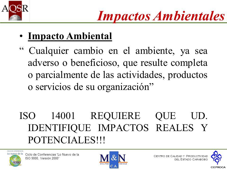 Impactos Ambientales Impacto Ambiental
