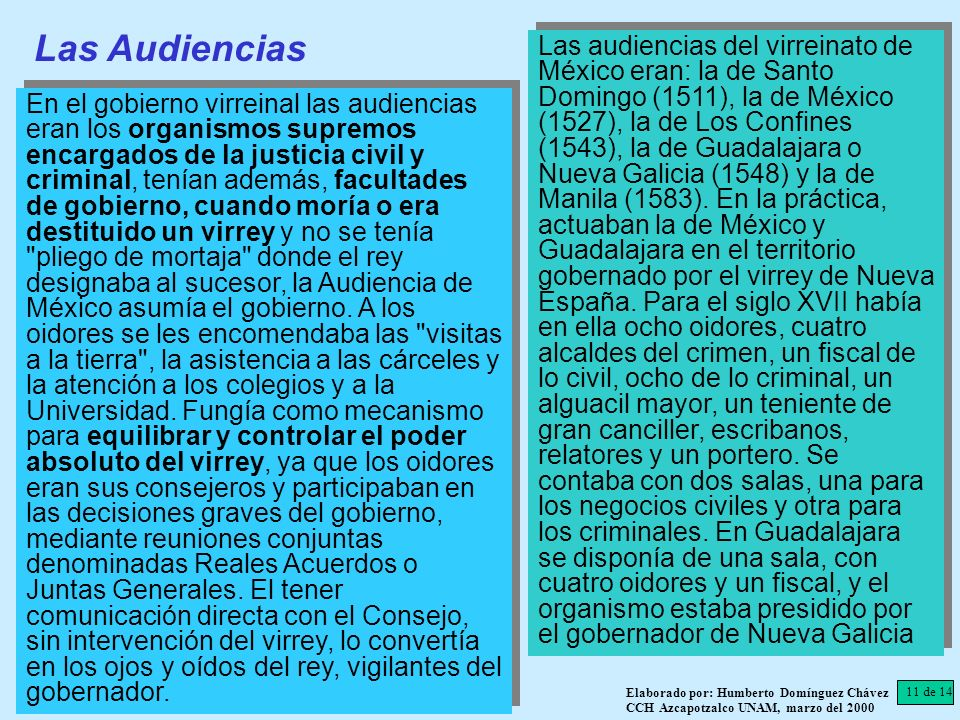 Las Audiencias