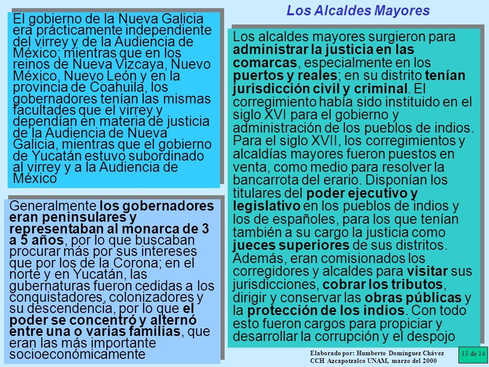 Los Alcaldes Mayores