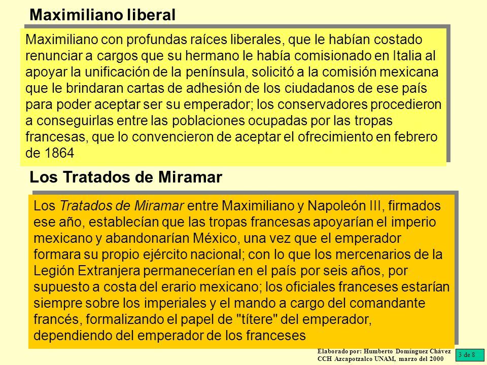 Los Tratados de Miramar