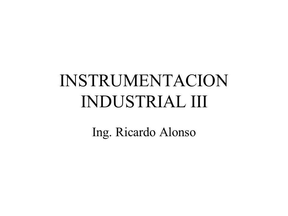 INSTRUMENTACION INDUSTRIAL III