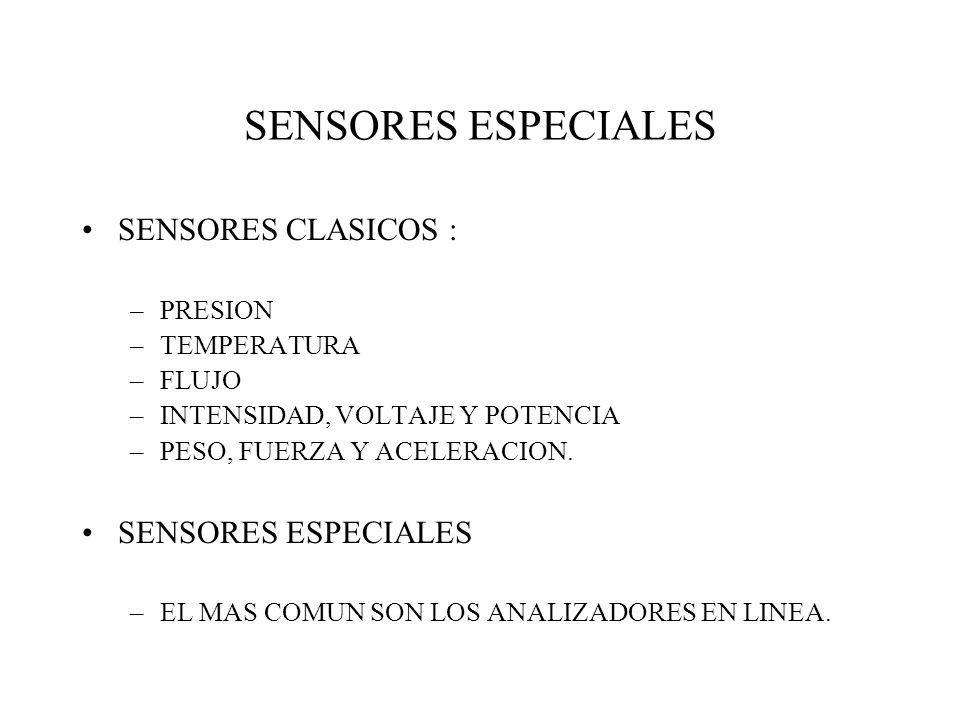 SENSORES ESPECIALES SENSORES CLASICOS : SENSORES ESPECIALES PRESION