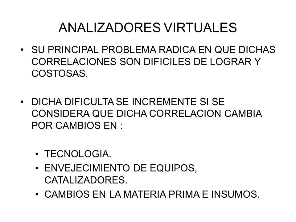 ANALIZADORES VIRTUALES