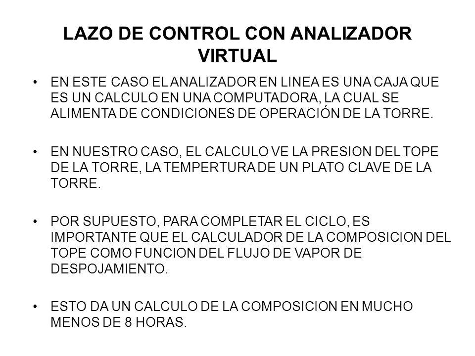 LAZO DE CONTROL CON ANALIZADOR VIRTUAL