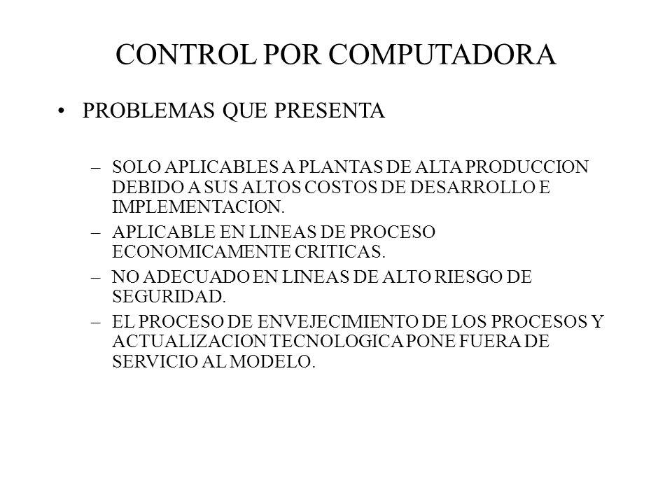 CONTROL POR COMPUTADORA
