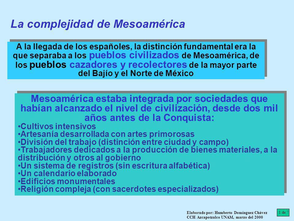 La complejidad de Mesoamérica