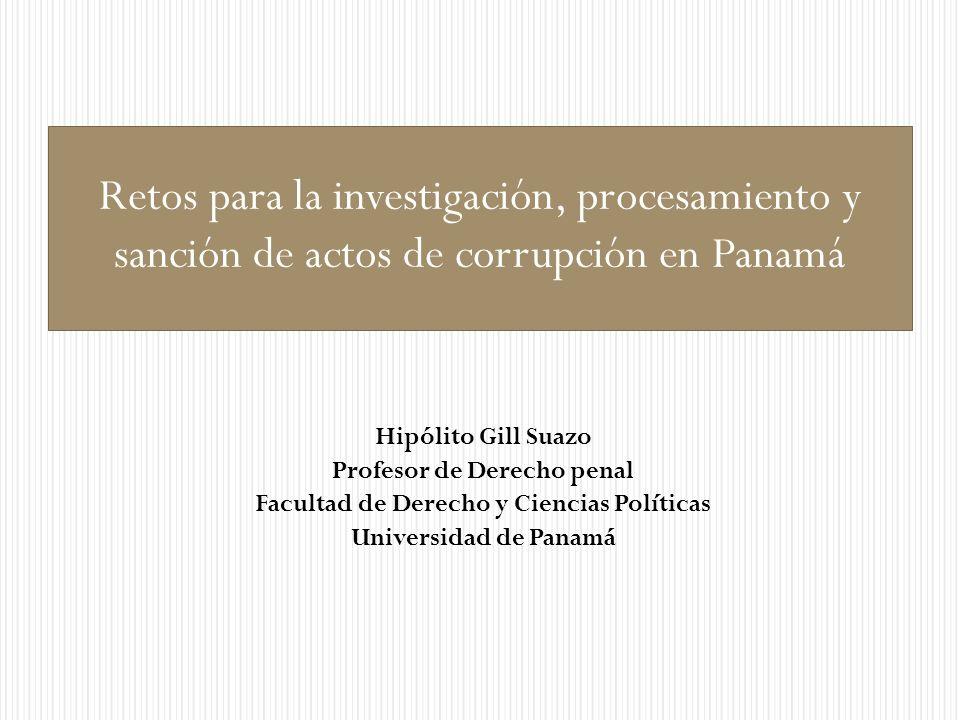 Profesor de Derecho penal Facultad de Derecho y Ciencias Políticas