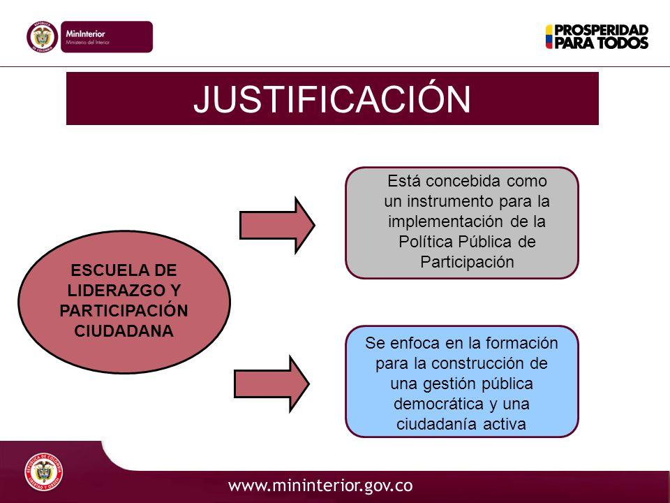 ESCUELA DE LIDERAZGO Y PARTICIPACIÓN CIUDADANA