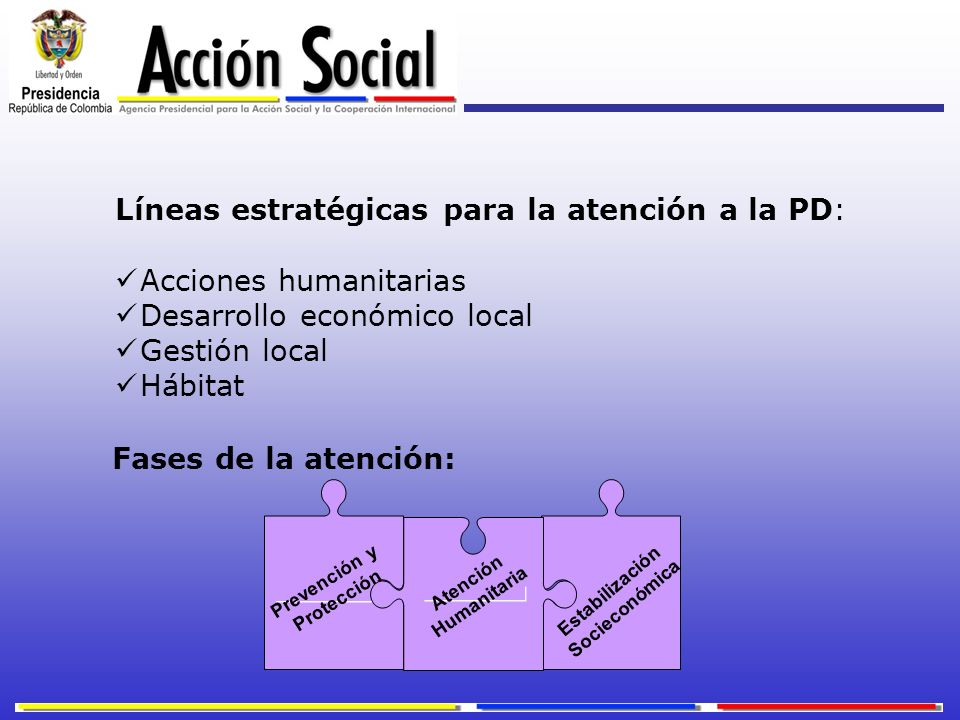 Estabilización Socieconómica