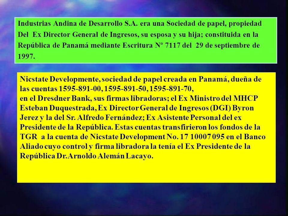 Industrias Andina de Desarrollo S. A