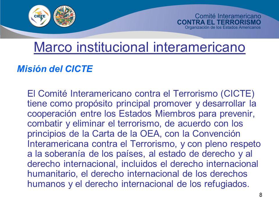 Marco institucional interamericano