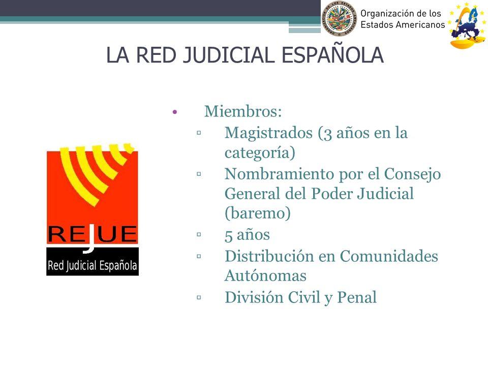 LA RED JUDICIAL ESPAÑOLA