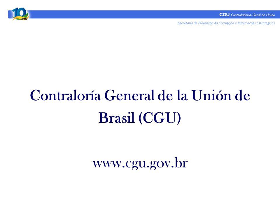 Contraloría General de la Unión de
