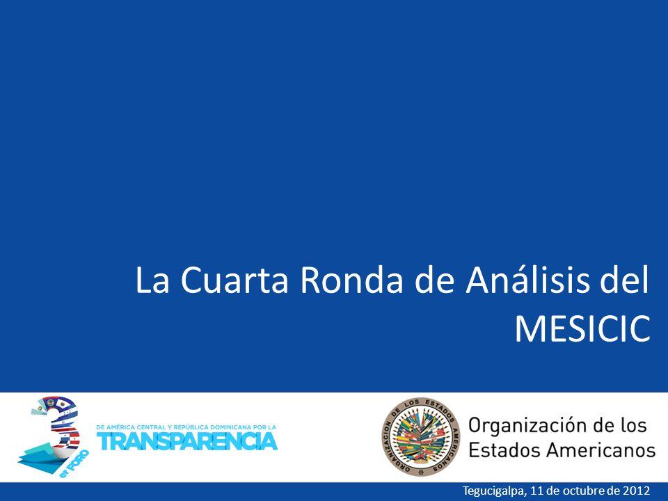 La Cuarta Ronda de Análisis del MESICIC