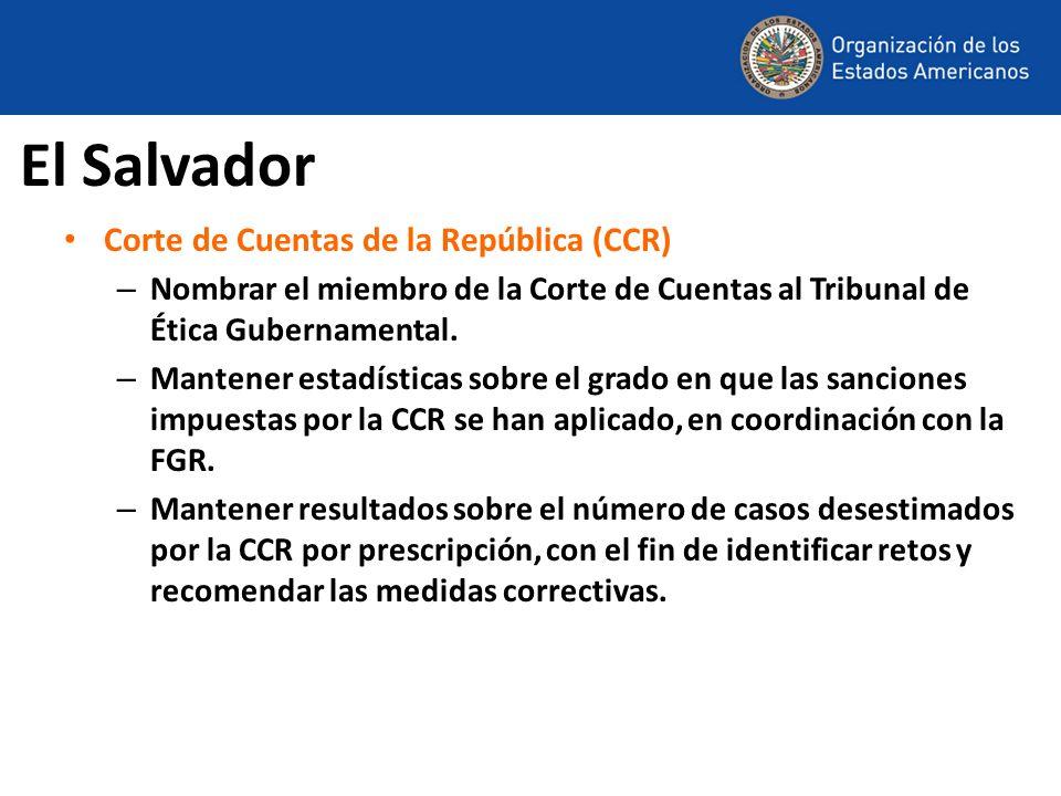 El Salvador Corte de Cuentas de la República (CCR)