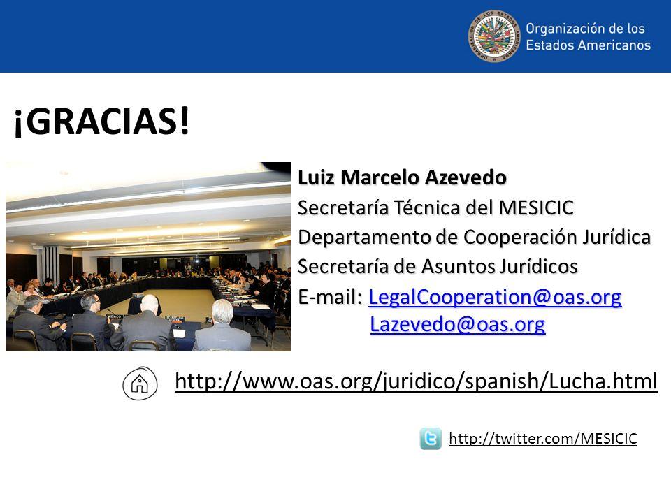 ¡GRACIAS! http://www.oas.org/juridico/spanish/Lucha.html