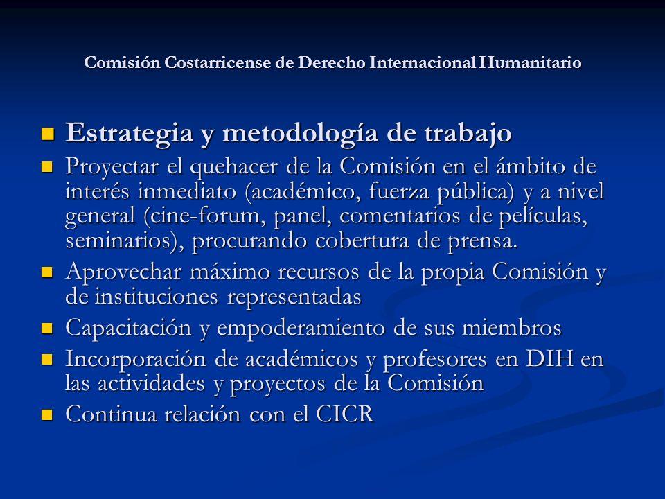 Comisión Costarricense de Derecho Internacional Humanitario
