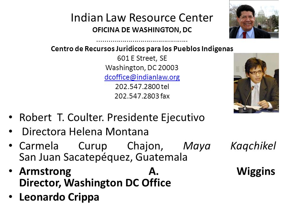 Robert T. Coulter. Presidente Ejecutivo Directora Helena Montana
