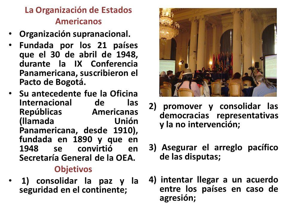 La Organización de Estados Americanos