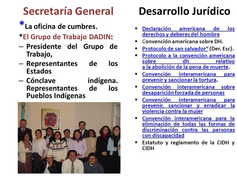 Secretaría General Desarrollo Jurídico