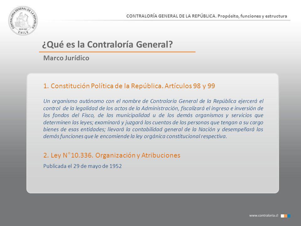 ¿Qué es la Contraloría General