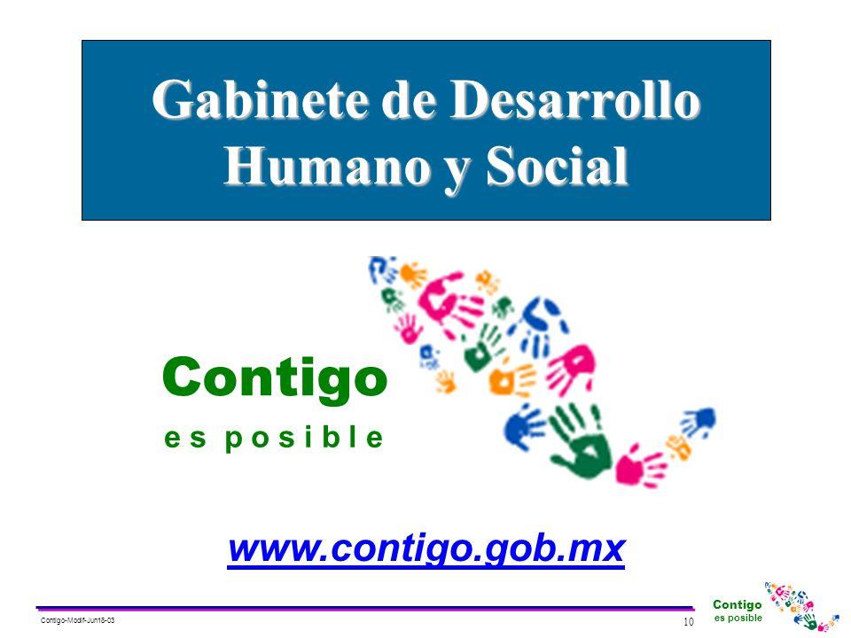 Gabinete de Desarrollo Humano y Social