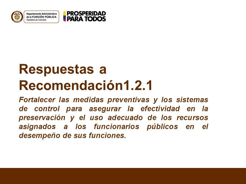 Respuestas a Recomendación1.2.1