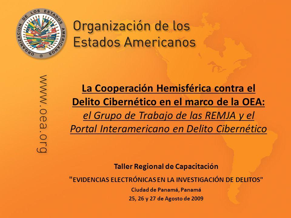 Taller Regional de Capacitación Ciudad de Panamá, Panamá