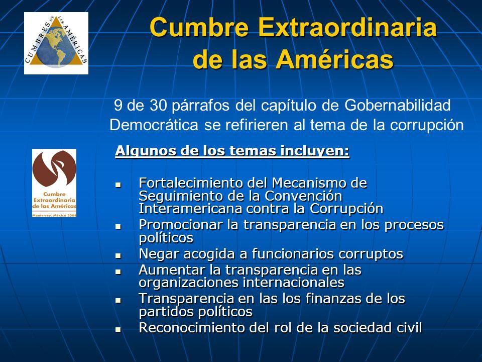 Cumbre Extraordinaria de las Américas