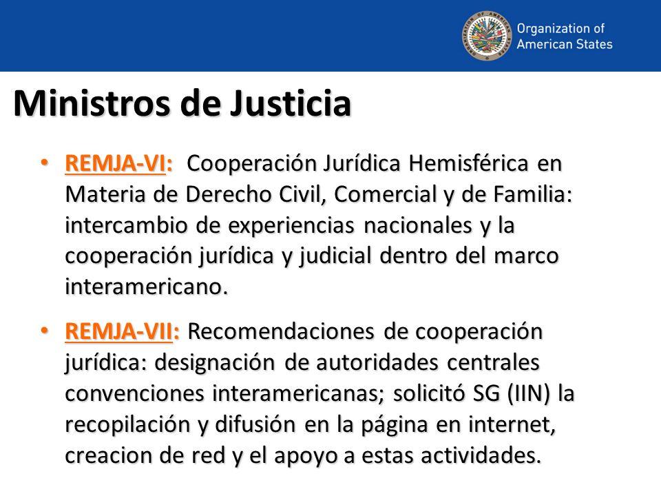 Ministros de Justicia